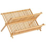 InterDesign Formbu Dish Rack, Wood