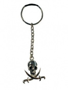 Skull and Crossbones Key-ring