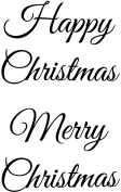 """Sweet Dixie Large """"Christmas Greetings"""" Stamp"""