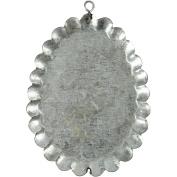 Metal Ornament, size 9,8x75cm, Basic, 3pcs