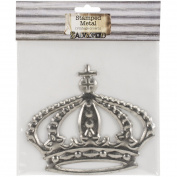 Bottle Cap Crafts Stamped Metal Crown