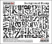 Darkroom Door Alphabet Background Stamp