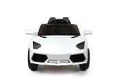 12V White Roadster Battery Ride On Car