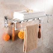 50 CM Stainless Steel Chrome Towel Racks Brand Bathroom Accessories