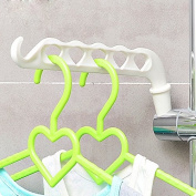 Multi-purpose Bathroom Shelf Accessories Llaves Decorative Towel Rack Hook Shower Wall Coat Hanger Organiser