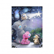 good01 5D DIY Diamond Embroidery Wall Painting Cute Bear Cross Stitch Craft Home Decor size S218