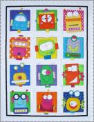 Amy Bradley Designs Robots Quilt Pattern