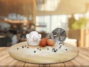 Egg separator mug Eggyman Egg White Yolk Filter Separator - Egg Sieve - Kitchen Gadget Cooking - Chef Kitchen Gadget - Seramic mug