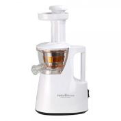 Hello Home White and Orange Slow Juicer 100% Maximised Extraction