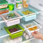 Withdrawing refrigerator Preservation Storage Box kitchen classification box Storage racks Multifunction