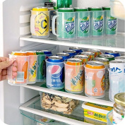 Refrigerator Storage Box Kitchen Accessories Beverage Can Space-saving Cans Finishing Four Case Organiser