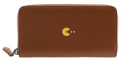 Coach PAC-MAN Calf Leather Accordion Wallet, F55736