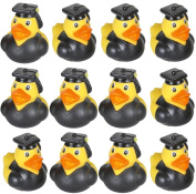 24 GRADUATION Rubber Duckies Ducks - 5.1cm
