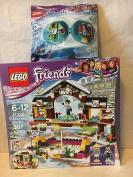 LEGO Friends Snow Resort Ice Rink & LEGO Friends Emma Ski-Pod