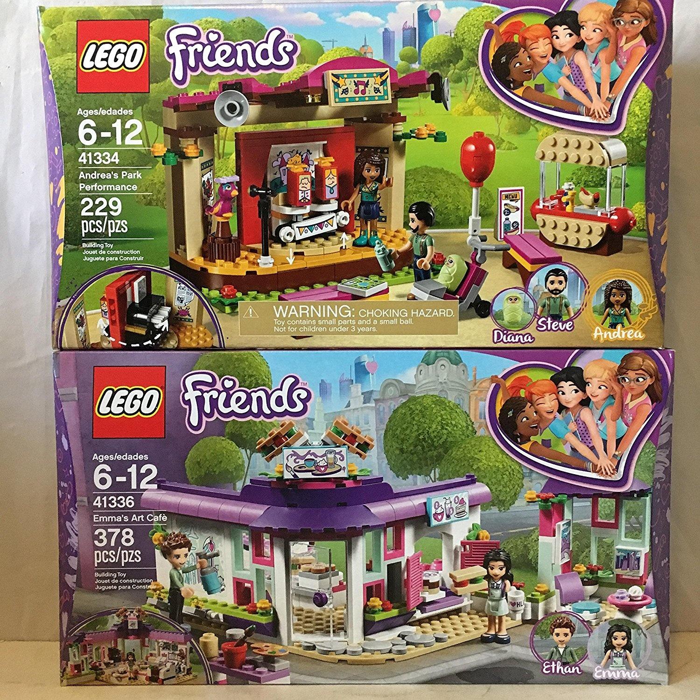 Lego Friends Emmas Art Café Lego Friends Andreas Park