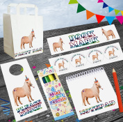Horse/ Shetland Pony Party Goody Bags With Fillers - Boys Girls Children's Birthday Events