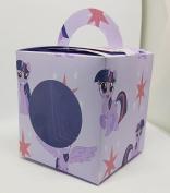 Cup Cake Boxes x6 My Little Pony Theme Twilight Sparkle