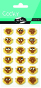 "Maildor Cooky ""Monkeys"" Stickers, Multi-Colour"