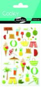 "Maildor Cooky ""Holidays"" Stickers, Multi-Colour"