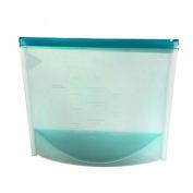 GreenSun(TM) Reusable Silicone Vacuum Food Storage Bags Sealer Wraps Kitchen Fridge Food Holder Containers Household Kitchen Storage