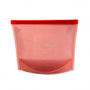 GreenSun(TM) 4 Colours Reusable Vacuum Food Sealer Silicone Storage Bag Food Wrap Container Kitchen Fridge H06