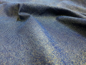 Shiny Denim Fabric Thin Glitter Denim For Clothing Home Craft Fancy Textiles UK FABRICS