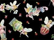 Fat Quarter Crafty Fairies Jim Shore 100% Cotton Quilting Fabric