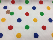 The Craft Junction (MEDIUM SPOTS) BBC CHILDREN IN NEED Spots cotton fancy dress outfit Dress Bunting Fabric