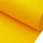 Felt Plain Yellow 3 mm thick 1 m Width