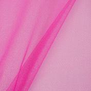 Hot Pink Glitter Tulle Width 1.5
