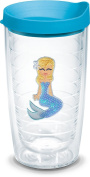 Tervis 470ml Blue Sequin Mermaid Tumbler With Lid 470ml Travel Tumbler Blue