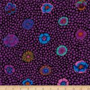 Kaffe Fassett Guinea Flower Purple - Per Quarter Metre