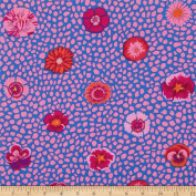 Kaffe Fassett Guinea Flower Pink - Per Quarter Metre