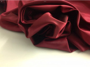 "Beautiful Superior Silky Shot Marooney / Red Silky Lining Fabric 56"" 143cm Cloth Material Garment"