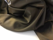 "Beautiful Shot Two Tone Silky Lining Fabric 141cm 55"" Khaki/gold (4) Cloth Material Garment"