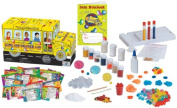 The Young Scientists The Magic School Bus Slime & Polymer Science Lab For Kids, Scientific Toys
