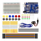 Starter Kit UNO R3 Mini Breadboard LED Jumper Wire Button for arduino Compatile with UNO R3 …
