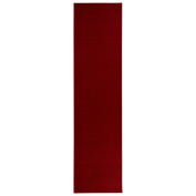 Sweet Home Stores Clifton Collection Solid Red Design Runner Rug