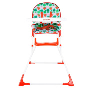 My Babiie Unisex MBHC1AS Apples and Strawberries Compact Highchair