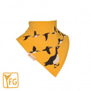 Funky Giraffe Yellow Geese Bandana Bib