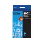 Epson T802XL220 DURABrite Ultra Cyan High Capacity Cartridge Ink