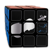 3x3x3 Cube GameViolin Viola Cello Music Platinum Style Game Puzzle Toys Rubik Cube For Adults Kids Anti Stress Anti-Anxiety