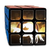3x3x3 Cube Gamerainbow Unicorns Love Game Puzzle Toys Rubik Cube For Adults Kids Anti Stress Anti-Anxiety