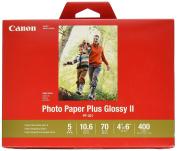 CanonInk Photo Paper Plus Glossy II 10cm x 15cm 400 Sheets