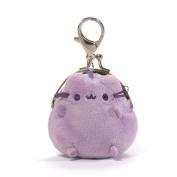 Gund Pusheen the Cat Mini Plush Coin Purse Pastel Lavender