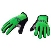 WOOM BIKES USA Kids Gloves, Green, Size 6