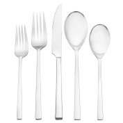 Oneida Dupree 45 Piece Casual Flatware Set, 18/0 Stainless, Service for 8