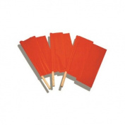 Accuform FSG181 Traffic Control Flags & Windsocks 18X18 FLAG SIZE Dowel