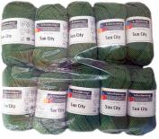 Sun City 00270 Pesto Approx. 97 M 10 x 50 g