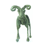 Model Sheep toy manual Handicrafts straw Lovely Vivid Little Animals Palm Made Of Sheep-Shaped Ornaments